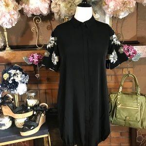 ALFANI PETITE BLOUSON DRESS NWT (10P)